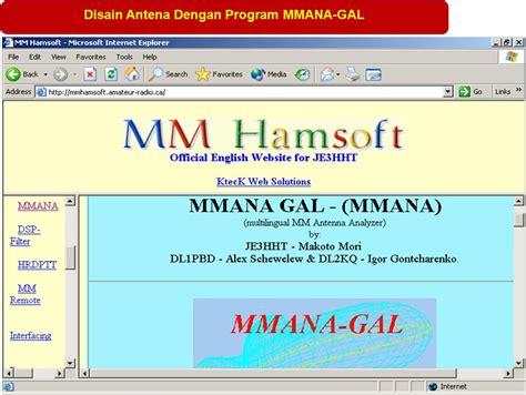 mmana antenna software antenna yagi