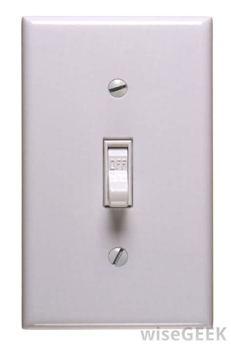what are the different types of electrical switches