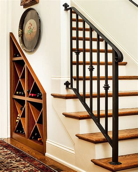 under stairs wine rack 40 under stairs storage space and shelf ideas to maximize