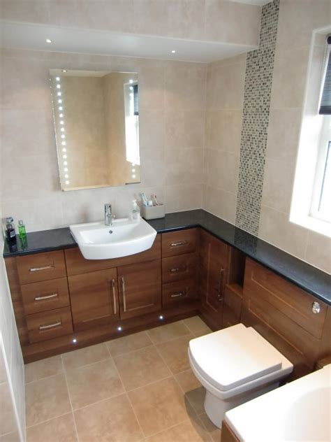 bathroom furniture walnut shaker fitted bathroom furniture traditional range