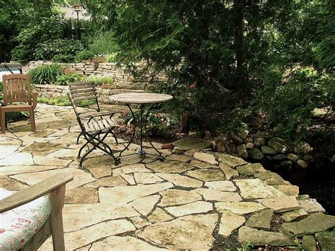 flagstone patio pictures minnesota roots landscape and contruction