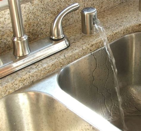 Air Gap Kitchen Sink Why Does My Dishwasher Drains Into My Sink Quora