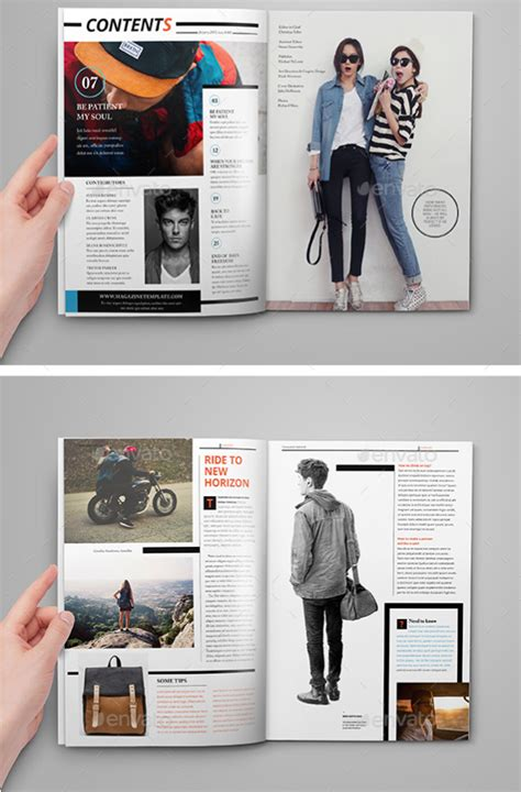 magazine format template 55 best magazine layout templates tutorial zone