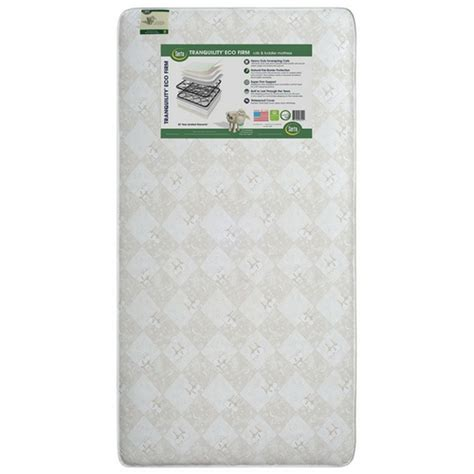 Serta Tranquility Eco Firm Crib And Toddler Mattress The Best Firm Crib Mattress