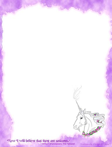 free printable unicorn stationery unicorn stationery flickr photo sharing
