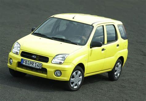 Suzuki Justy Subaru Justy 1 3 G3x Daihatsu Daihatsu Sirion Fiat