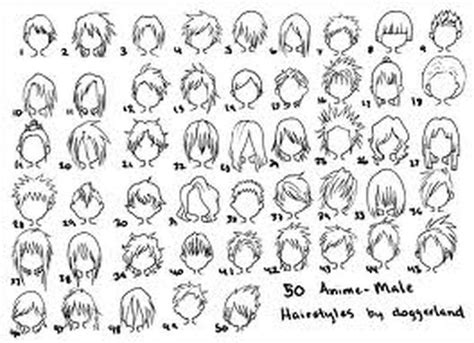 medium length hairstyle sketches anime guy hair anime with clarissa