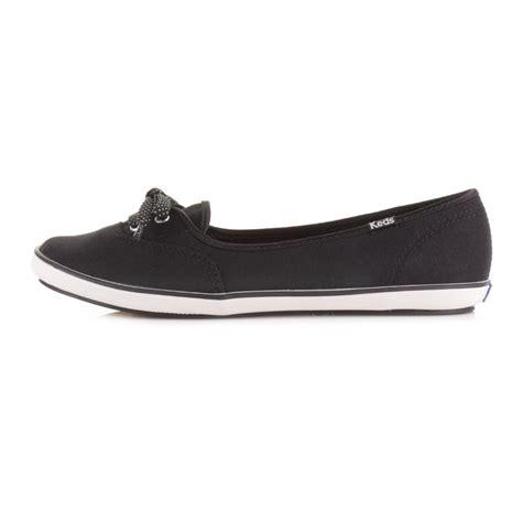 womens keds teacup black canvas cvo casual shoes pumps