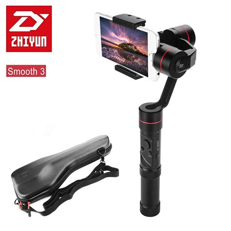 zhiyun smooth iii smooth 3 3 axis handheld gimbal for smartphones for iphone 7 6 plus 6 5s 5c