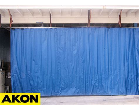 outdoor industrial curtains akon curtain  dividers