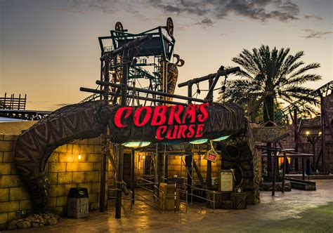 What Time Does Busch Gardens by Busch Gardens Cobra S Curse To Open June 17 Orlando