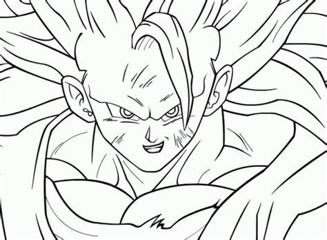 imagenes de goku para dibujar a lapiz completos goku para colorear