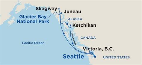 princess cruises routes roundtrip alaska cruise from seattle 2019 princess cruises