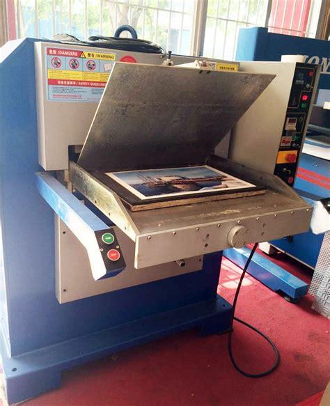 hydraulic high speed jigsaw puzzle die cutting press