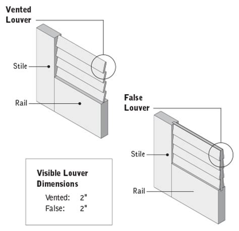 Overhead Door 4040l Manual False Louvered Interior Doors Residential Wood Doors Standard And Custom Styles Interior Doors
