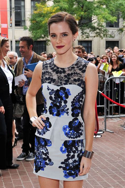 emma watson toronto film festival the perks of being a wallflower premiere 2012 toronto