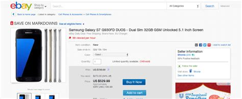 Harga Samsung S7 G930fd deal samsung galaxy s7 32gb duos gsm hanya 529 99