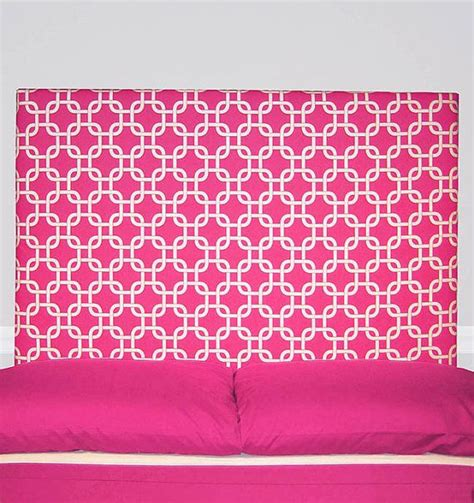hot pink headboard hot pink geometric upholstered headboard padded twin