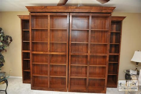 hidden murphy bed bookcase wall unit storage beds wall beds hidden beds diy lift stor beds