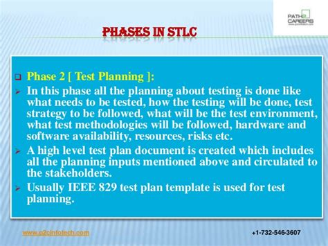ieee 829 test strategy template software testing cycle