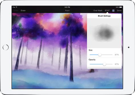 pixelmator 1 1 for adds realistic watercolor painting new color picker more 9to5mac