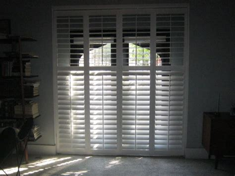 Blinds For Large Sliding Glass Doors 17 Best Images About Window Treatments On Plantation Shutter Window Treatments And