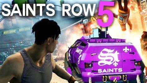 saints row 5 saints row 5 realism characters youtube