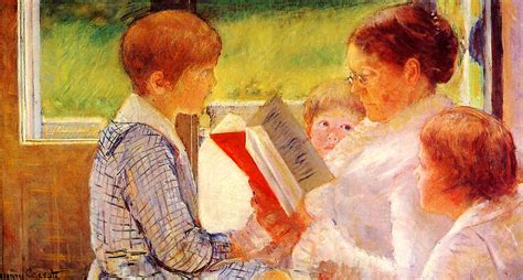 portraits of jesus a reading guide books mrs cassatt reading to grandchildren 1880