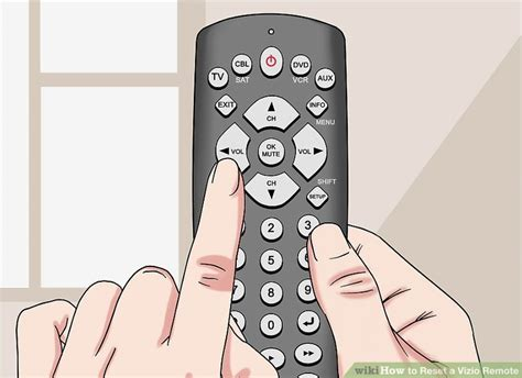 reset vizio tv with remote how to reset a vizio remote 14 steps with pictures