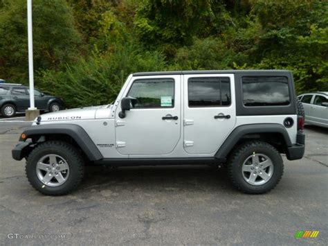 jeep rubicon silver bright silver metallic 2012 jeep wrangler unlimited