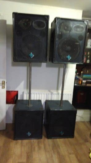 genera music general music lps 153 passive speaker system for sale in