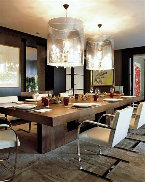 moderne pendelleuchte esszimmer 105 wohnideen f 252 r esszimmer design tischdeko und