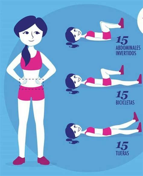 ejercicios para abdomen en casa m 225 s de 25 ideas incre 237 bles sobre abdominales en pinterest