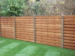 Horizontal Wood Fence Design Horizontal Fence Panels For Privacy And Protection Homestylediary