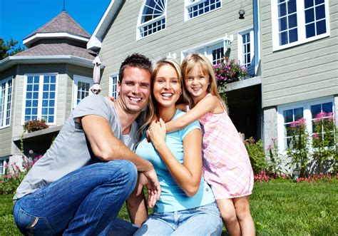 Family In Front Of House by Homes Lessons Tes Teach