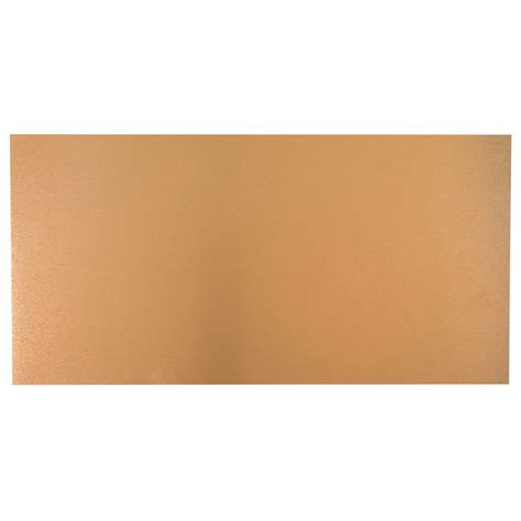 shop m d building products 24 in x 12 in copper sheet