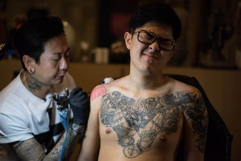 tattoo korea asia south korea s outlaw tattoo artists starting to find a