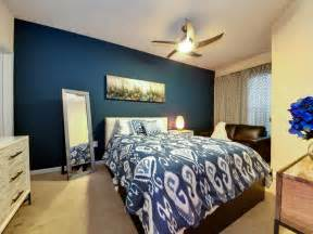 Accent Wall In Bedroom by Gallery For Gt Dark Blue Bedroom Accent Wall