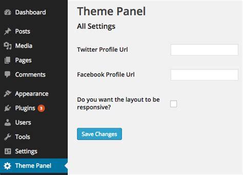 theme callback exle create a wordpress theme settings page with the settings api