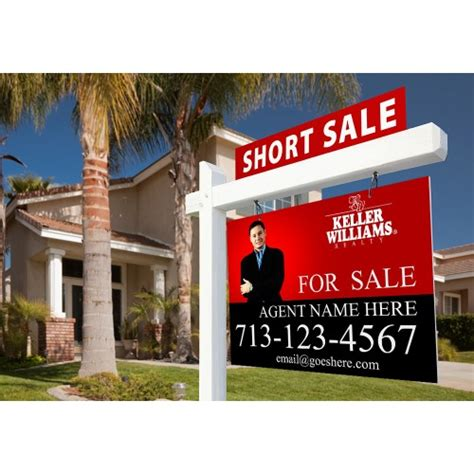 Full Color Real Estate For Sale Signs 24x36 Coroplast 4mm Overnight Grafix Real Estate For Sale Signs Templates