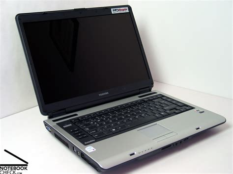 review toshiba satellite a100 979 notebookcheck net reviews