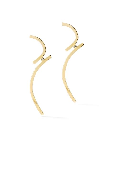 Elisabeth Earring gold earrings by elizabeth and accessories for