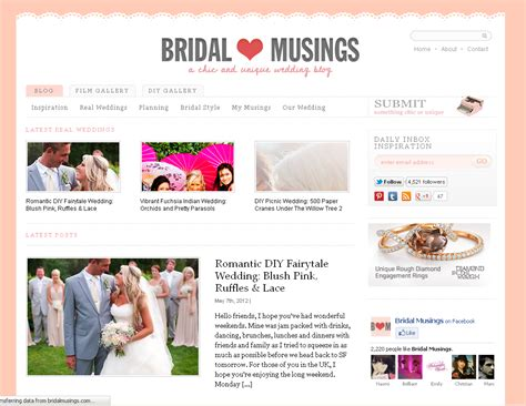 Wedding Blogs by Capitol Lovin 2 Bridal Musings Capitol