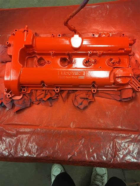 Painting Valve Cover by Painted The Valve Cover Today Cobalt Ss Network