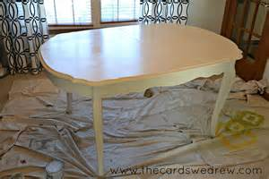 Chalk Paint Dining Room Table Chalk Paint Dining Room Table Upcycle Adventure The Cards We Drew