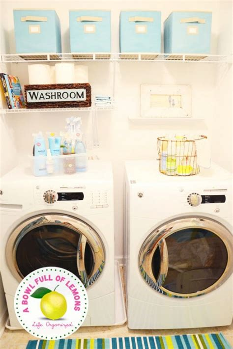 Organizing Laundry Closet by 150 Dollar Store Organizing Ideas And Projects For The