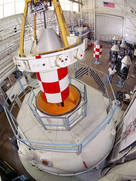 nasa drop vehicle in the zero gravity research facility