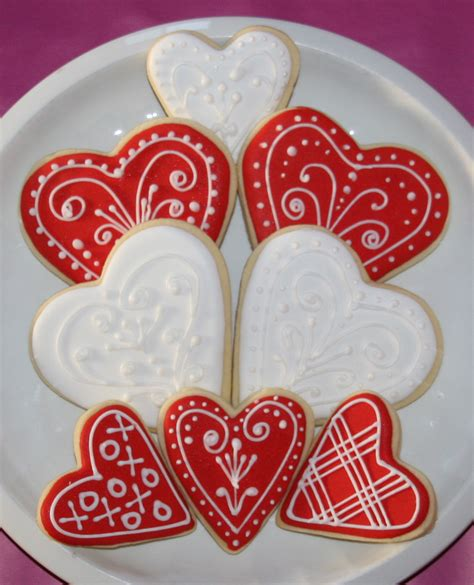 how to make valentines cookies happy valentine s day cookies tutorial cake cupcakes and