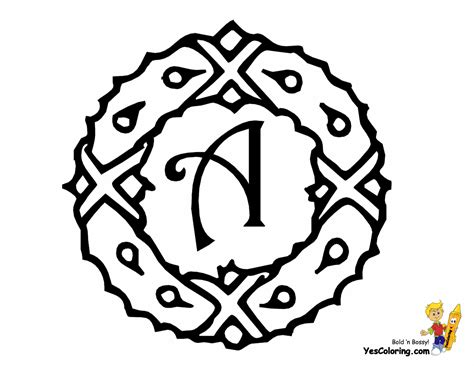 christmas coloring pages letters holiday alphabet headquarters free christmas