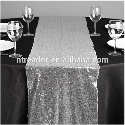 cheap sequin table runners cheap silver sequin dining table runner buy silver table